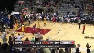 CJ Fair's playoff game-sealing block for the Fort Wayne Mad Ants
