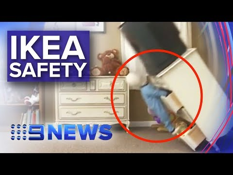 Australians Warned To Check Ikea Furniture After Spate Of Deaths | Nine News Australia