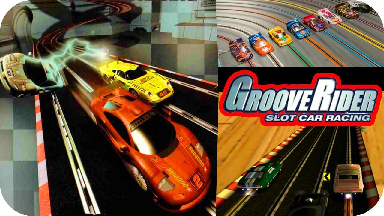 Slot car racing speed