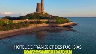 hotel de france et les fuchsias saint vaast la hougue, hotel cotentin, hôtel manche