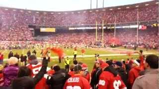 Intro 49ers vs Green Bay Packers at Candlestick Park - LONGEVITY WELDING
