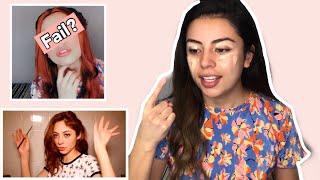 Intento copiar maquillaje de DHASIA WEZKA / ¿Desastre? 🤦🏽♀️ - Karla Jaramillo colab Evahair