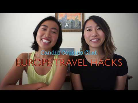 Candid Chats: Europe Travel Hacks