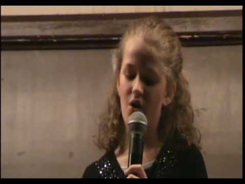 """""""Canaanland is just in sight"""" 10 YEAR OLD McKenzie George at the Gospel Cafe"""