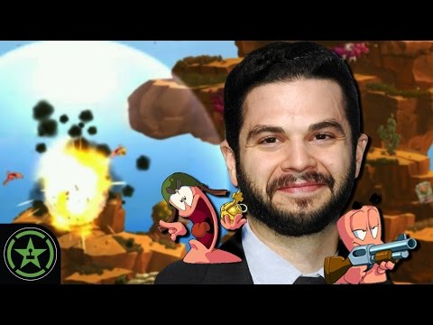 Let's Play  Worms W.M.D. with Samm Levine