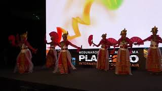 Tari Bedana Kipas - Indonesia at Place2go Event in Zagreb, Croatia 2019