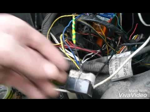 как отключить имобилайзер на опель виваро2002г