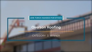 2016 BBB Torch Awards for Ethics Winner: Overson Roofing