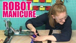 I got a manicure from a robot