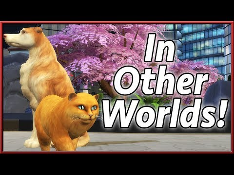 Strays and Dog Walkers in Other Worlds! | The Sims 4: Cats & Dogs (Mod by sims4me)