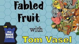 Fabled Fruit Review - with Tom Vasel