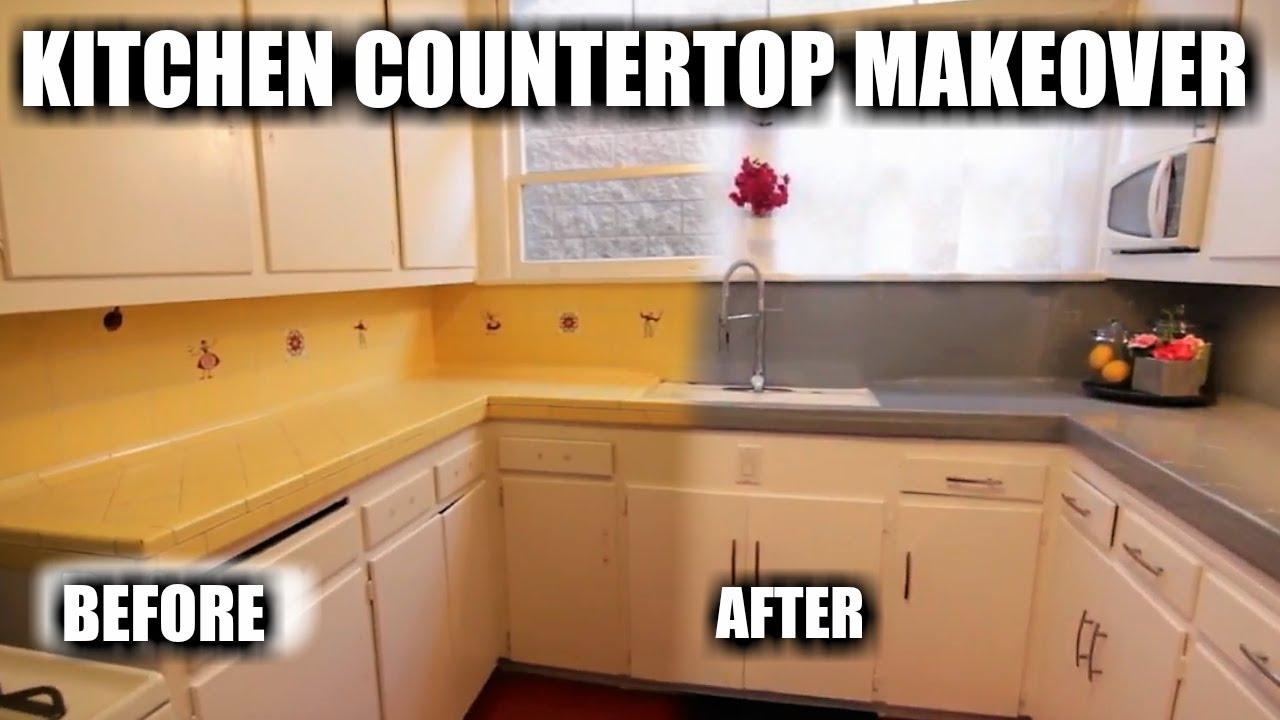 1 day kitchen tile countertop makeover reglazing tile kitchen countertop dp tubs