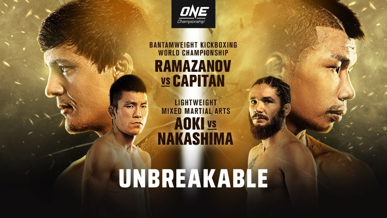 🔴 [Live In HD] ONE Championship: UNBREAKABLE