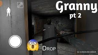 || I SHOT GRANNY HAHAHA!!! || Granny horror game pt 2 ||