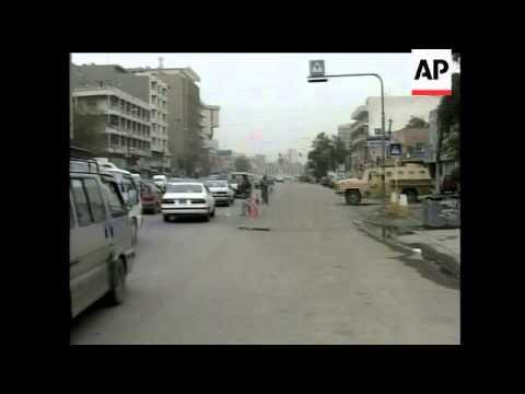 Slow start to Baghdad security plan