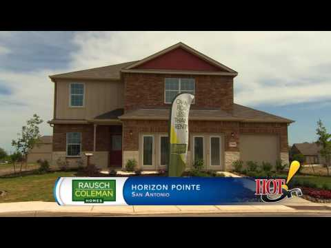 Rausch Coleman Homes At Horizon Pointe In San Antonio, TX