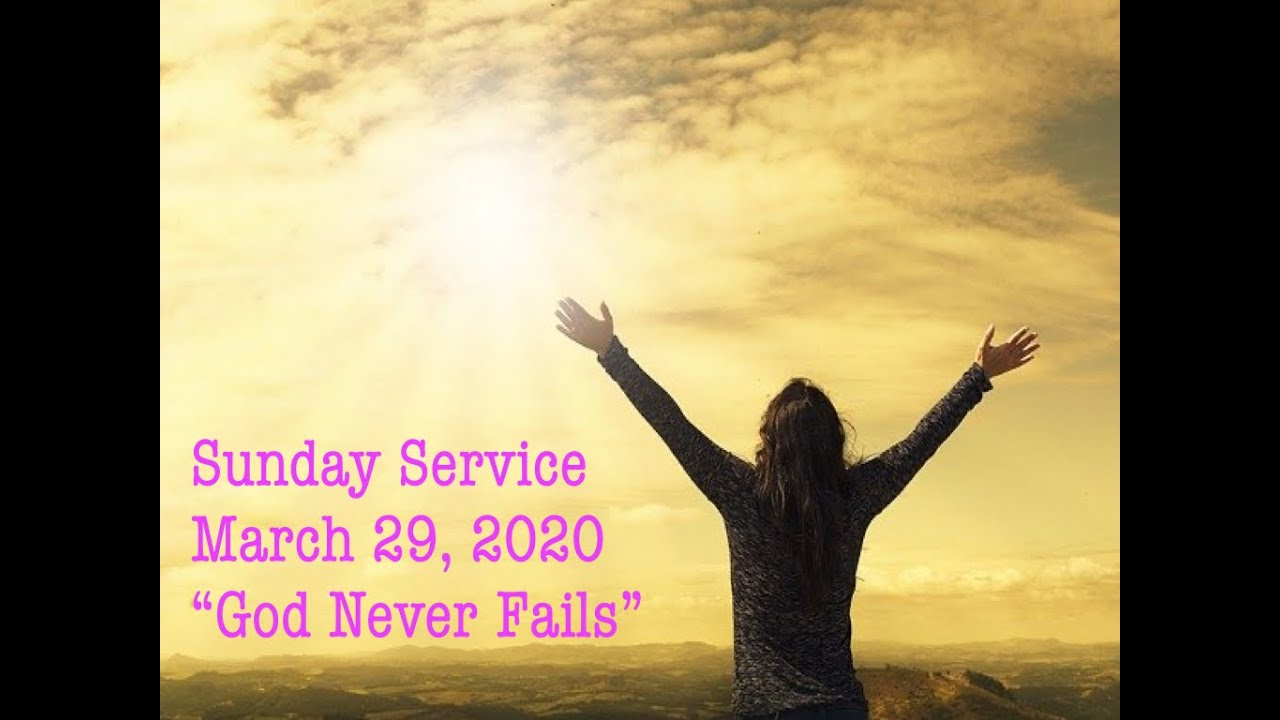 Sunday Service March 29, 2020