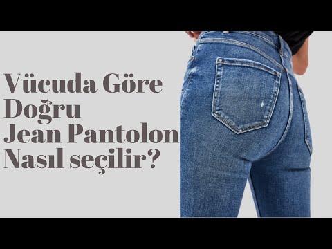 Doğru Jean/Kot Bedene Göre Nasıl Seçilir? |İpek Eraslan