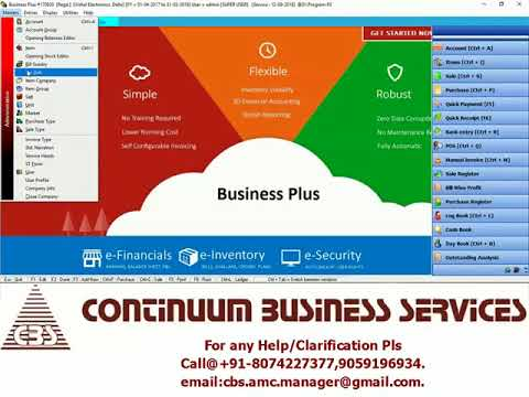 GST-ERP Software for Electronic Shops/Dealers