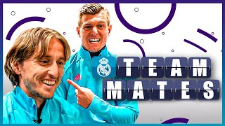 Which Real Madrid player could be an actor? | Kroos & Modrić | TEAMMATES