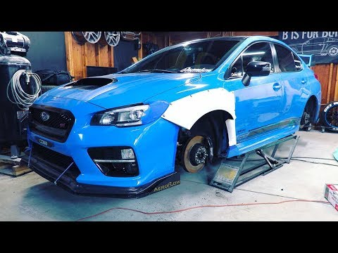 How To Widebody A 2016 WRX STI – Pt 1