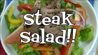 Steak Salad Leftover Makeover!