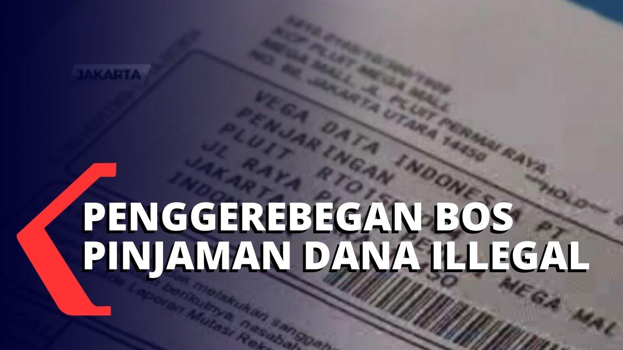 hendak kabur ke singapura dua bos pinjaman dana ilegal berhasil ditangkap