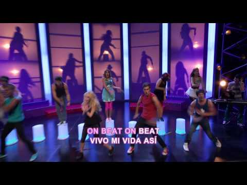 Disney Channel España | Videoclip karaoke Violetta - On Beat