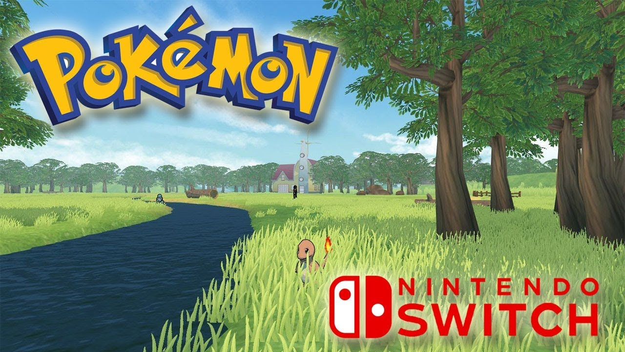 Un Juego Pokemon De Mundo Abierto En Nintendo Switch Nuevas