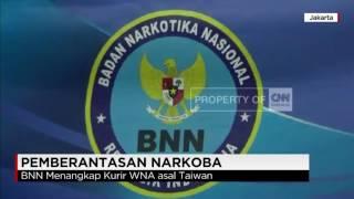 BNN Menangkap Kurir WNA Asal Taiwan