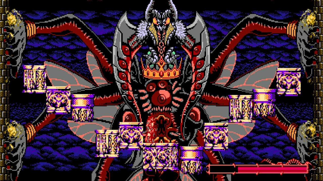Bloodstained: Curse of the Moon 2 - The Demon's Crown Boss Fight #8