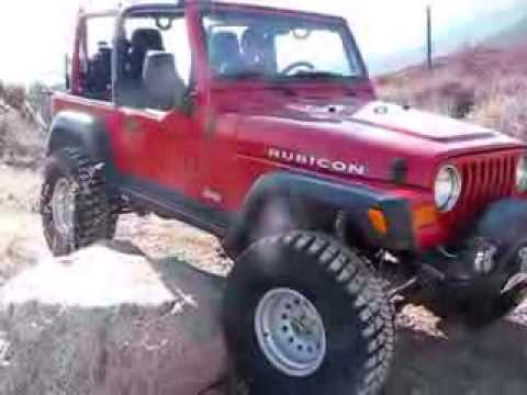 Jeep Tj Lift Test Haven Rock Youtube