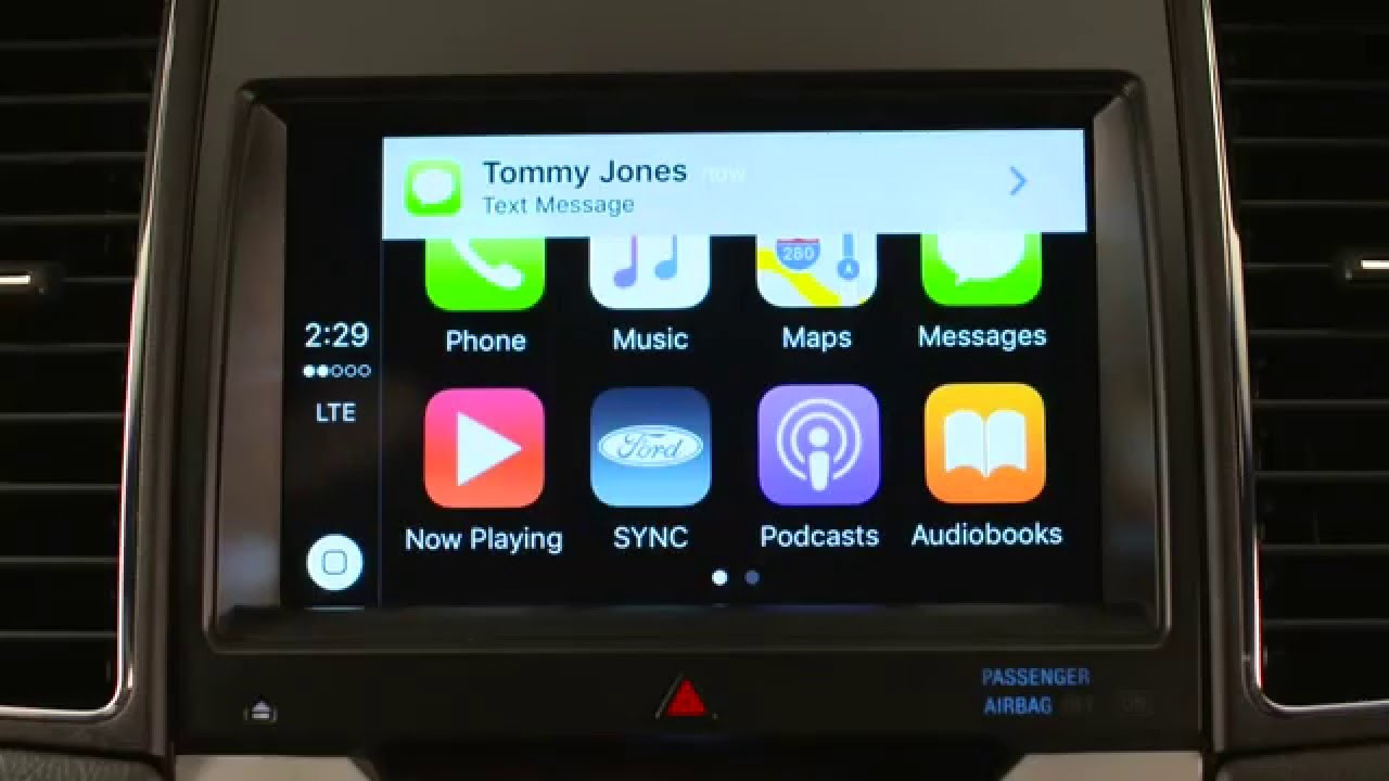 ford 39 s sync 3 apple carplay feature youtube. Black Bedroom Furniture Sets. Home Design Ideas