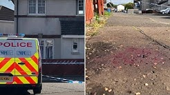 Chainsaw Attack Rampage As Mans Arm Severed In West Lothian (Scotland) GT TV
