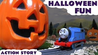 Thomas And Friends Halloween Toy Trains Kinder Surprise Eggs With Minions Openin