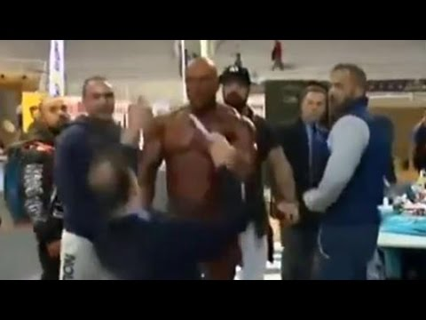 Raging Bodybuilder Pulls Out Penis Then SLAPS Judge After Losing
