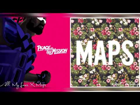 All My Love X Maps | Ariana Grande, Major Lazer & Maroon 5 Mashup!