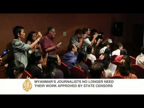 Myanmar ends direct press censorship