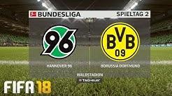 ⚽ FIFA 19 Bundesliga Hannover 96 : Borussia Dortmund 🏆 Gameplay Deutsch Livestream