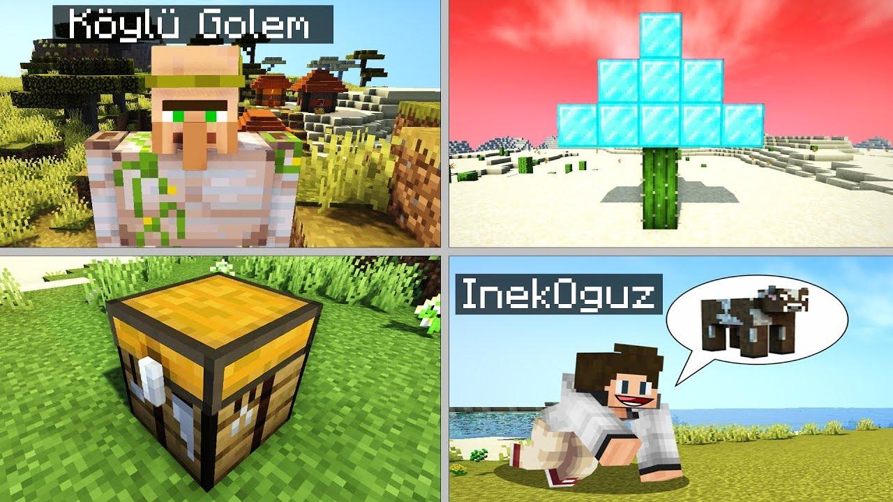 BOZUK MİNECRAFT'TA EV YAPMAK - Minecraft