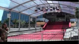 Festival de Cannes 2011 - Visite du Palais des Festivals
