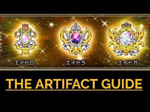 ff dissidia opera omnia artifact guide
