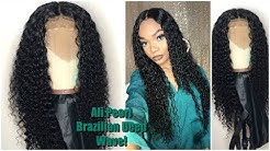 How I Tame My AliPearl Brazilian Deep Wave Hair