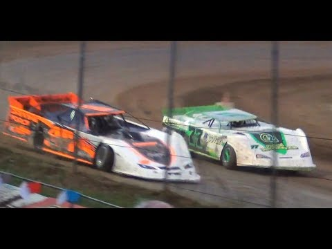 Super Late Model's-Heat & Feature @ Cottage Grove Speedway 2018