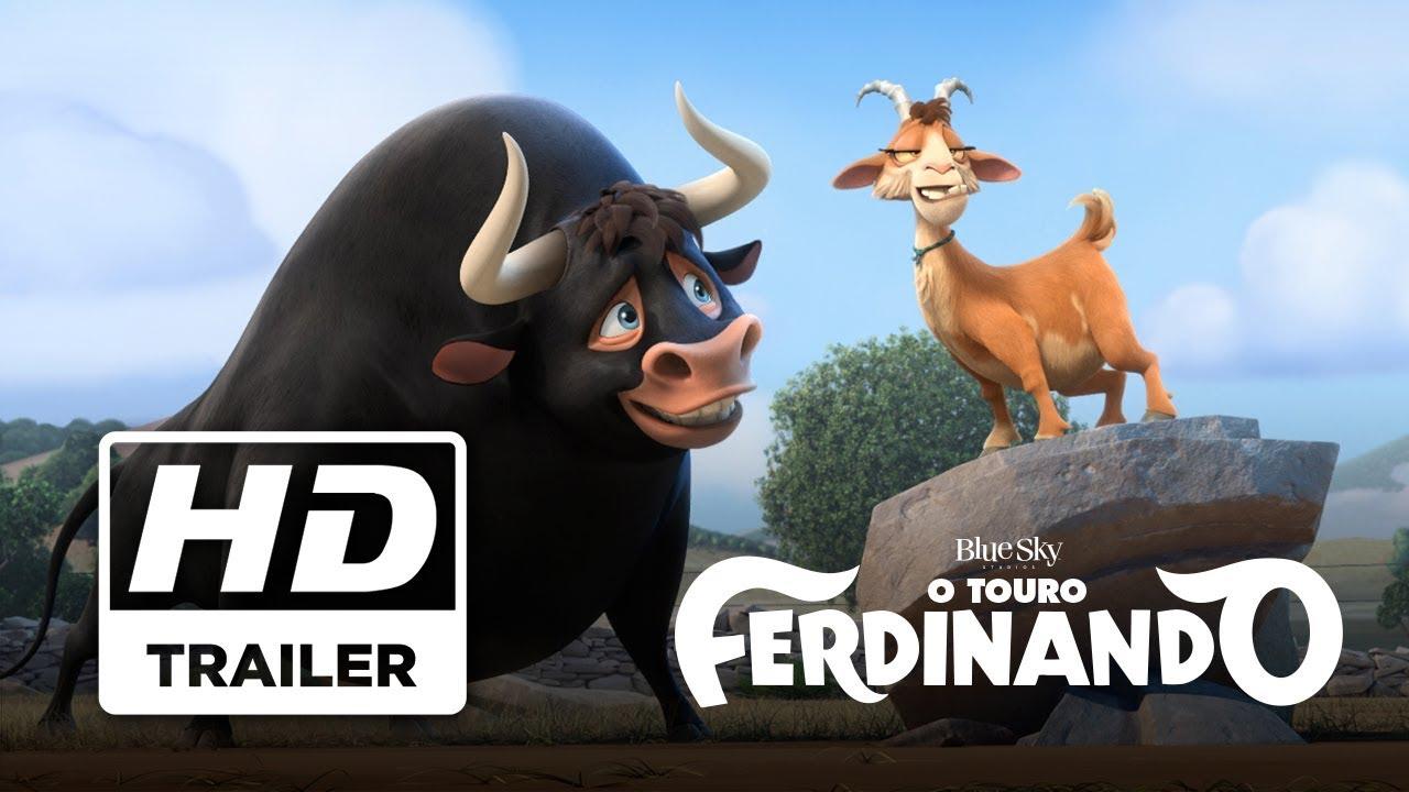 O Touro Ferdinando Trailer Oficial 3 Legendado Hd Youtube