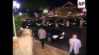 Michael Jackson Arrives For Brit Awards, At Brit Awards, At World Music Awards, In South Africa