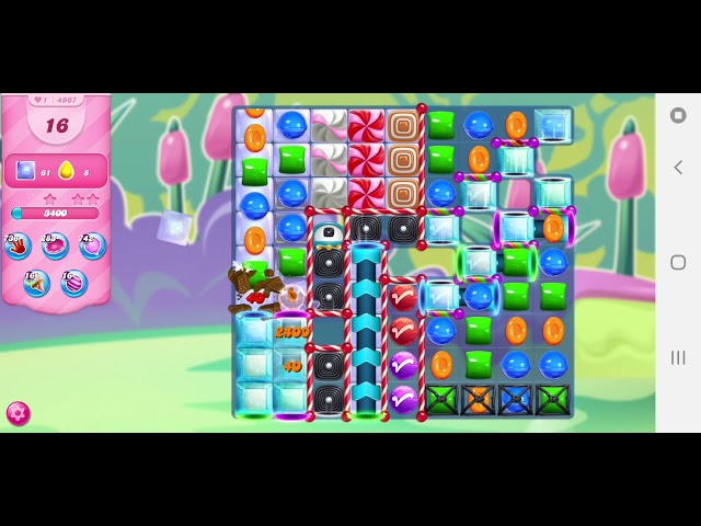 Candy Crush Saga niveau 4967