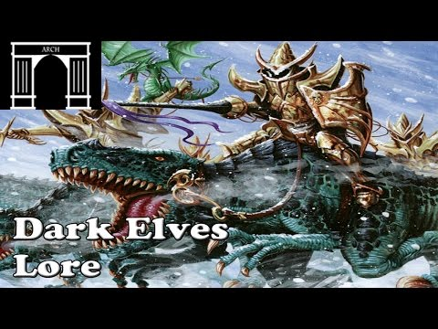Possible Total War:Warhammer Factions The Dark Elves