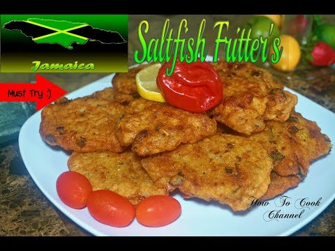 HOW TO MAKE JAMAICAN SALTFISH FRITTERS RIGHT THE FIRST TIME