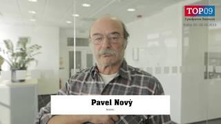 Pavel Nový - Pojďte se mnou volit TOP 09